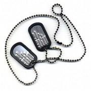 Армейские жетоны,  набивке текста на жетон,  жетон армейский заказать.