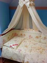 Комплект постельного белья в детскую кроватку ТМ «ASIK»- 8 эл- №125