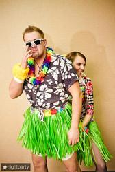 Где купить гавайские наряды, гавайский венок из цветов купить в Киеве