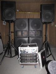 Продается комплект профессионального звукового оборудования!!!