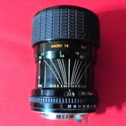 Sigma Zoom-Master 35mm-70mm,  f1:2.8-4   Multi Coated  for Pentax К