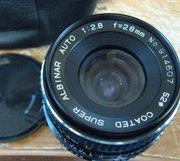Albinar Auto 28mm 1:2.8 Pentax K