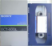 ВидеоКассета  формата  Betacam  (№1)