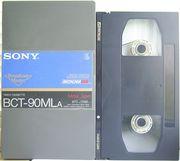 ВидеоКассета  формата  BetacamSP 90  (№2)