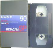 ВидеоКассета  формата  BetacamSP 90  (№4)