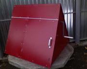 Домики для колодцев - металлические,  деревянные (сруб,  вагонка. Выполн