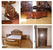 Изготовление из дерева на заказ в Киеве: мебель,  двери,  окна,  лестницы