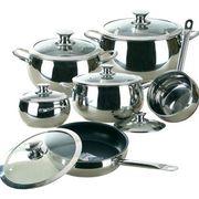 Набор посуды Maestro  MR 3022 Jambo Gold-12