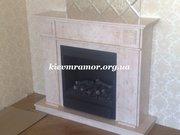 Купить мраморные камины в Киеве по доступной цене.