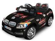 Детский электромобиль E3366 BLACK - 12V,  2