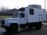 Фургон мастерская на шасси Газ