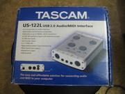 Продам звуковую карту Tascam US-122L