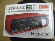 Продам звуковую карту Focusrite Scarlett 2i2