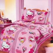Детское постельные комплекты- Hello Kitty,  Тачки,  Спайдермен