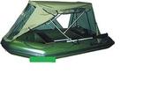 продам тент палатку на резиновую лодку Эдвенчер 3.20