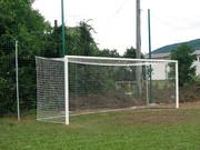 Ворота футбольные,  мини футбольные,  сетки для улицы и зала,  производим