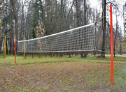 Волейбольное стойки,  сетки от производителя- для уличных спортплощадок
