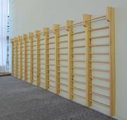 Шведские деревянные стенки в ассортименте от производителя