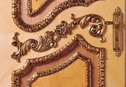 Резные элементы декора для мебели и интерьера. Резьба по дереву. Отдел