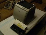 Принтер HP Color LaserJet 2605 + 2 картриджа