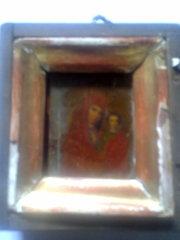 продам иконку  Богоматерь Казанская и Святое Евангелие 1906г