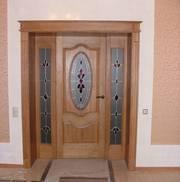 Витражи для межкомнатных дверей. Витражи для входных дверей.