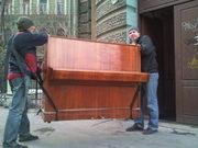 Как нужно перевозить пианино без повреждения