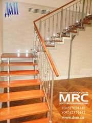 Лестницы со ступенями из дерева dom.ua/content/view/243/251