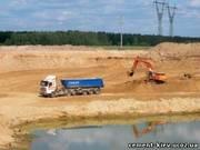 Продажа песка оптом Киев,  песок Киев