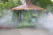 Туманное охлаждение летних площадок
