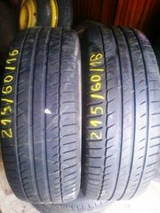Шины,  Б/У,  michelin primacy hp 215/60 r16 99h