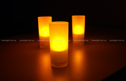 АКЦИИ!Светильники Philips Imageo CandleLights Naturelle, 3 set 6918 699