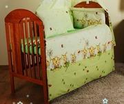 Комплекты постели из 8- ед вкроватку для новорожденного- Пчелки