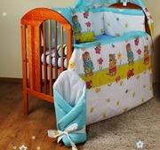 Комплекты постельного белья в детскую кроватку из 8-ед- фирмы Medison