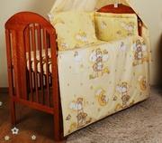 Комплекты постельного белья в детскую кроватку из 6-ед- фирмы Medison