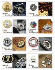NCS tekstil  швейная металлофурнитура,  кнопки оптом из Турции