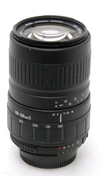 Sigma UC 100-300mm 1:4.5-6.7 Zoom Lens for Nikon