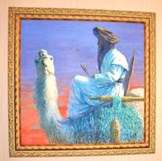 Продаю картину маслом на Верблюде