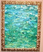 Продаю картину Озеро,  художницы Елены Самойлик