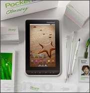 Продам Pocketbook A7 Белый + флеш-карта на 16гб.