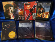 лицензионные DVD из коллекции (блюз,  джаз)