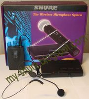 Продается радиосистема Shure SH-200 h-free,   с радио микрофонной гарни