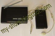 Shure SH-200 h-free с радио микрофонной гарнитурой телесного цвета