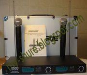 Продам радиосистему Shure LX88-3 2 радиомикрофона SM58