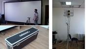 СРОЧНО ПРОДАЕМ ДЕШЕВО: 2 проектора  Panasonic PT-EW630E и экран