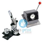 Комплект оборудования для производства закатных значков,  магнитов