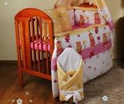 Защита,  бампер,  бортики ,  охранка в детскую кроватку-