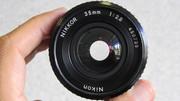 ПРОДАМ ОБЪЕКТИВ ШИРОКОУГОЛЬНЫЙ Nikon  NIKKOR  35mm  f/2, 8  на Nikon-MADE IN JAPAN