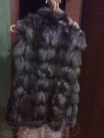 Фотография 2. Жилетка из чернобурки - фотография 2