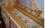 Комплекты постельного белья в кровать новорожденного из 8 едениц